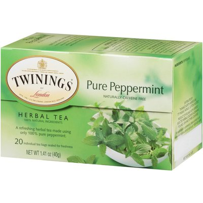 Twinings Pure Peppermint Herbal Tea Tea Bags
