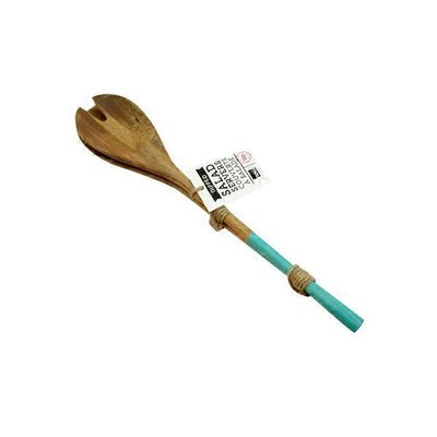 Now Design Dipped Turquoies Salad Servers