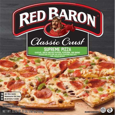 Red Baron Classic Crust Supreme Pizza