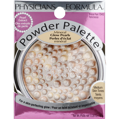 Physicians Formula Powder Palette, Mineral Glow Pearls, Bronze Pearl 7043
