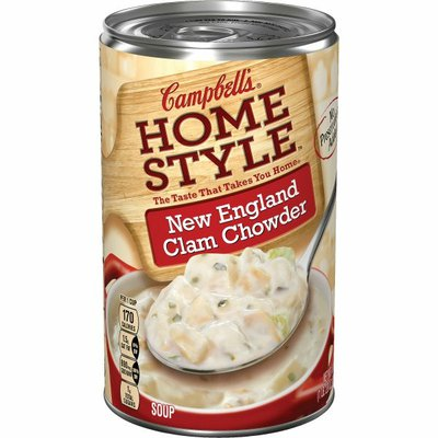 Campbell's® Homestyle New England Clam Chowder