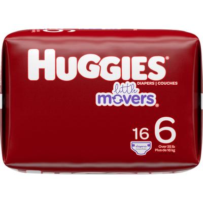 Huggies Baby Diapers, Size 6