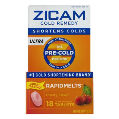 Zicam Cold Remedy Cherry