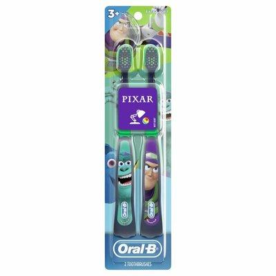 Oral-B Kids Manual Toothbrush featuring Disney & Pixar's Toy Story, Soft