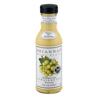 Brianna's Vinaigrette Dressing, Champagne Style