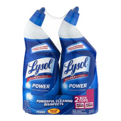 Lysol Toilet Bowl Cleaner, Power