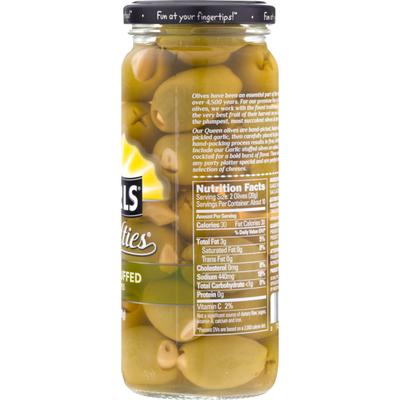 Pearls Specialties Garlic Stuffed Queen Olives