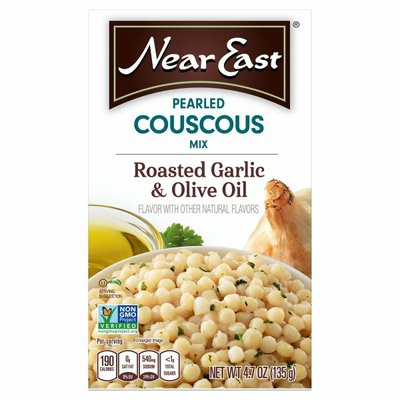 Near East Pearled Cous Cous Roasted Garlic & Olive Oil