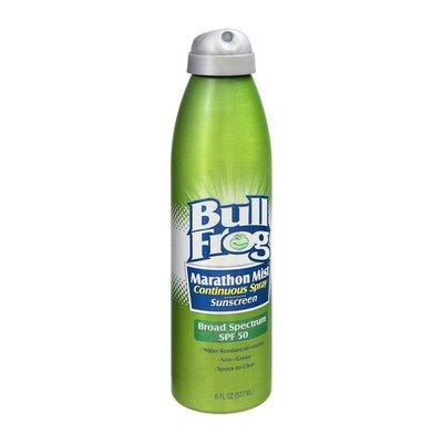 Bull Frog Marathon Mist Sunscreen Continuous Spray - SPF 50