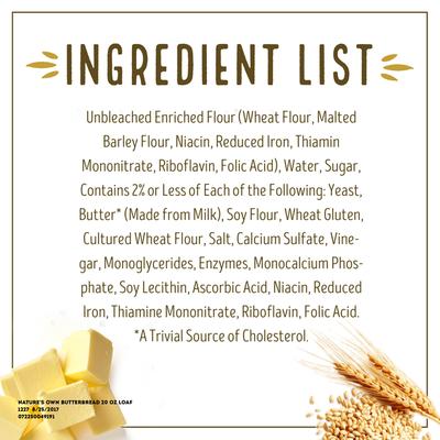 Nature's Own Butterbread Bread