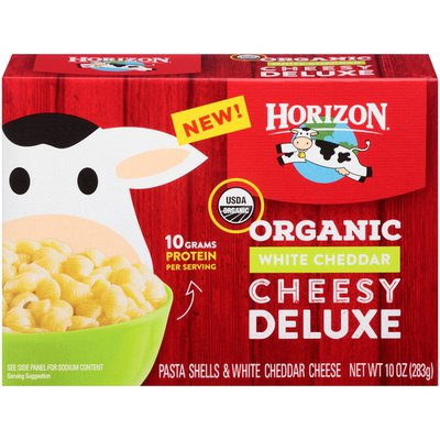 Horizon Organic Organic White Cheddar Cheesy Deluxe Shells & Cheese