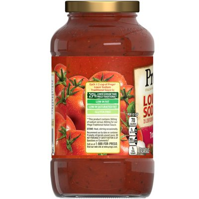 Prego® Lower Sodium Traditional Italian Sauce