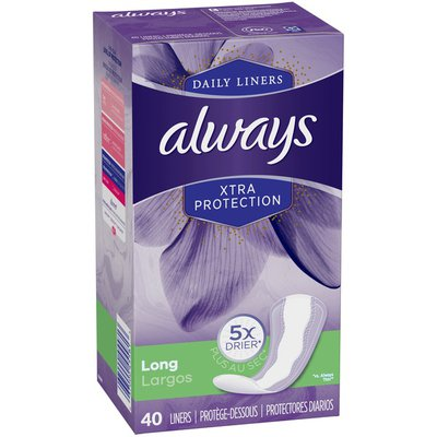 Always Anti-Bunch Xtra Protection Long Absorbency Unscented