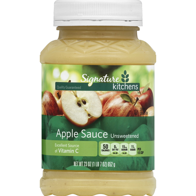 Signature Apple Sauce, Unsweetened