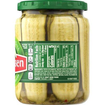 Claussen Kosher Dill Pickle Sandwich Slices