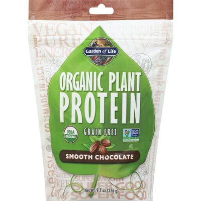 Garden of Life Plant Protein, Organic, Smooth Chocolate