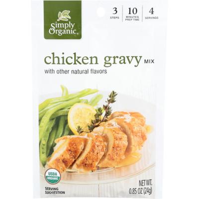 Simply Organic Gravy Mix, Chicken Flavored