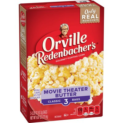 Orville Redenbacher's Movie Theater Butter Classic Bag