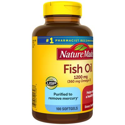 Nature Made Fish Oil 1200 mg Softgels