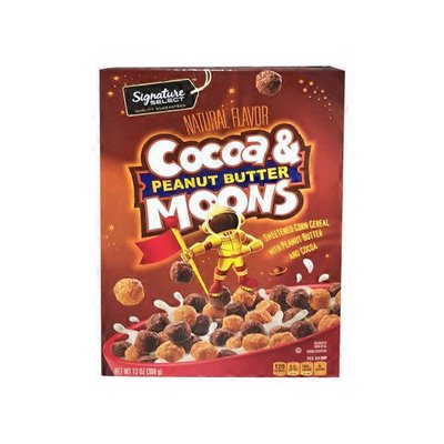 Ss Cocoa & Peanut Butter Moons Cereal