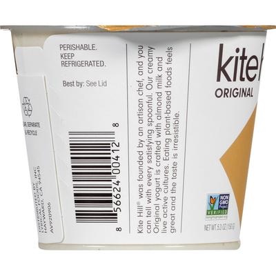 Kite Hill Almond Milk Yogurt, Dairy Free, Vanilla