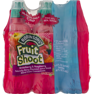 Robinsons Fruit Shoot Strawberry & Raspberry -