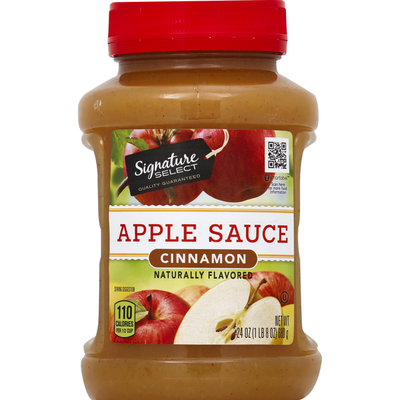 Signature Kitchens Apple Sauce, Cinnamon