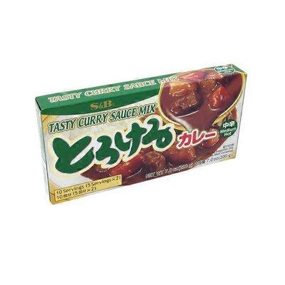 S&B Medium Hot Tasty Curry Sauce Mix