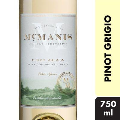 McManis Family Vineyards® Pinot Grigio, California