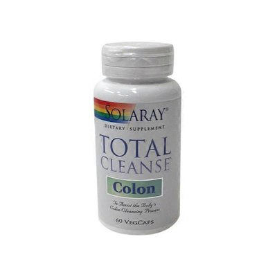 Solaray Total Cleanse Colon Vegetable Capsules