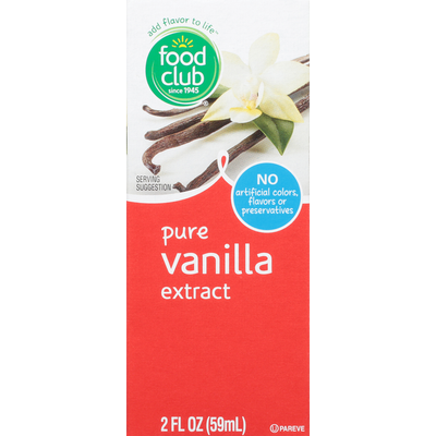 Food Club Vanilla Extract, Pure