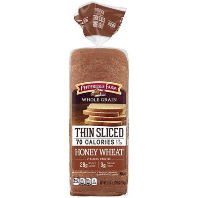 Pepperidge Farm®  Whole Grain Thin Sliced Honey Wheat Bread
