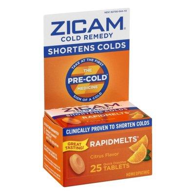 Zicam Cold Remedy, Quick Dissolve Tablets, Citrus Flavor