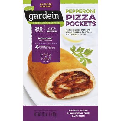 Gardein Pizza Pockets, Pepperoni