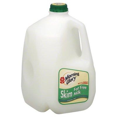Morning Glory Milk, Fat Free, Vitamin A & D, Jug