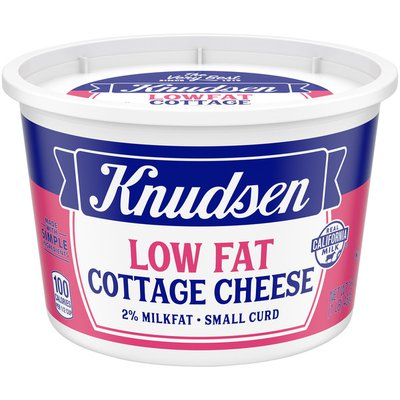 KNUDSEN Lowfat Small Curd Cottage Cheese with 2% Milkfat