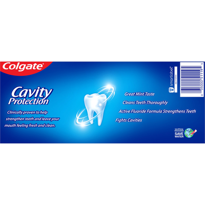 Colgate Toothpaste, Anticavity Fluoride, Cavity Protection, Great Regular Flavor, Value 2 Pack