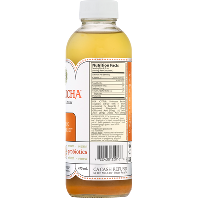 GTs Organic Kombucha Tantric Turmeric
