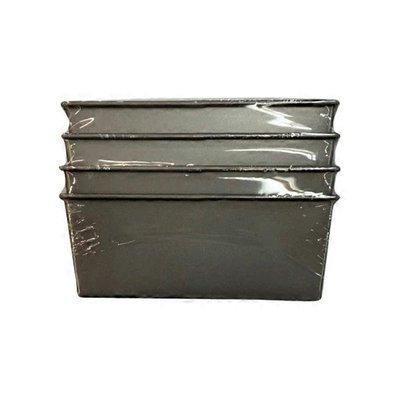 "Chicago Metallic 5.75"" x 3.25"" Commercial II Nonstick Aluminized Steel Mini Loaf Pan"