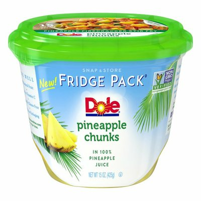 Dole Fridge Pack Pineapple Chunks in Pineapple Juice