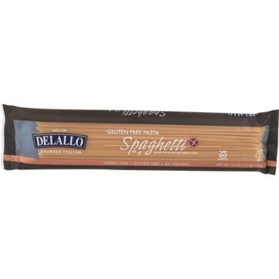 DeLallo Gluten Free Pasta Whole Grain Rice Spaghetti