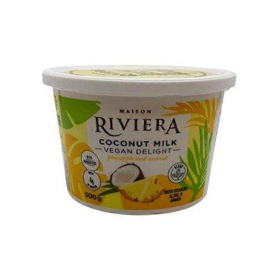 Riviera Vegan Delight Coconut And Pineapple 500G