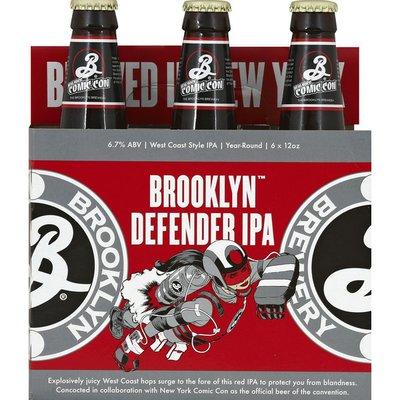 Brooklyn Brewery Defender IPA, Bottles