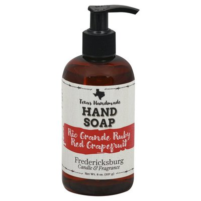 Fredericksburg Hand Soap, Rio Grande Ruby Red Grapefruit