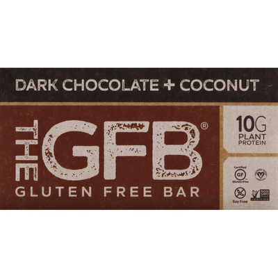 The GFB Protein Bar, Dark Chocolate + Coconut