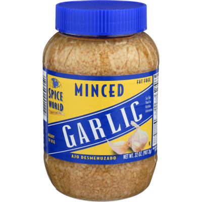 Spice World Garlic, Minced