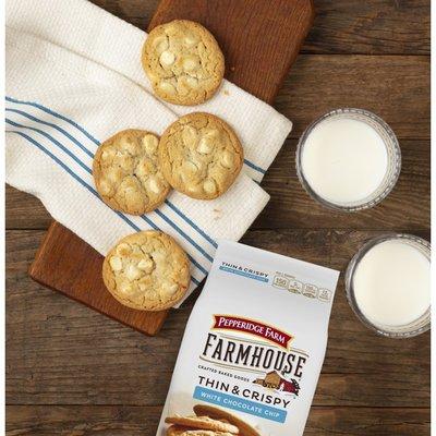 Pepperidge Farm®  Farmhouse Thin & Crispy White Chocolate Chip Cookies
