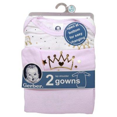 Gerber Gowns, Lap Shoulder