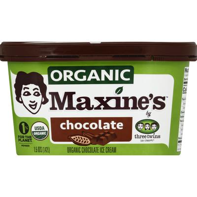 Maxine's Ice Cream, Organic, Chocolate