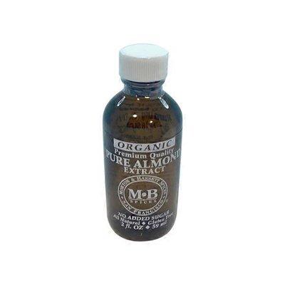 Morton & Bassett Spices Organic Premium Quality Pure Almond Extract